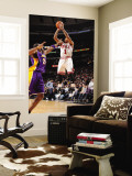 Los Angeles Lakers v Chicago Bulls: Derrick Rose and Kobe Bryant Wall Mural by Andrew Bernstein