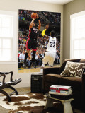 Miami Heat v Memphis Grizzlies: Eddie House and O.J. Mayo Wall Mural by Joe Murphy