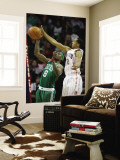 Boston Celtics v Charlotte Bobcats: Marquis Daniels and Shaun Livingston Wall Mural by  Streeter