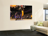 Sacramento Kings v Los Angeles Lakers: Kobe Bryant Wall Mural by Noah Graham