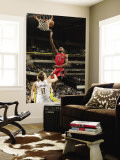 Toronto Raptors v Indiana Pacers: Amir Johnson and Mike Dunleavy Wall Mural by Ron Hoskins