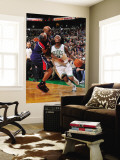 Atlanta Hawks v Boston Celtics: Marquis Daniels Wall Mural by Steve Babineau