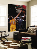 Washington Wizards v Los Angeles Lakers: Trevor Booker and Pau Gasol Wall Mural by  Jeff