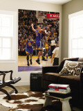 Golden State Warriors v Los Angeles Lakers: Lamar Odom and Andris Biedrins Wall Mural by Noah Graham