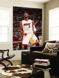 Philadelphia 76ers v Miami Heat - Game Five,  MIAMI - APRIL 27: Dwyane Wade Wall Mural by Victor Baldizon