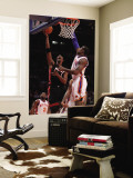 Miami Heat v New York Knicks: Chris Bosch Wall Mural by Al Bello