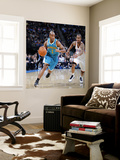 New Orleans Hornets v Oklahoma City Thunder: Jarrett Jack and D.J. White Wall Mural by Layne Murdoch