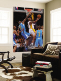 New Orleans Hornets v Los Angeles Lakers - Game One, Los Angeles, CA - April 17: Kobe Bryant and Em Wall Mural