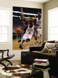 Atlanta Hawks v Boston Celtics: Nate Robinson, Jason Collins and Kevin Garnett Wall Mural by  Elsa
