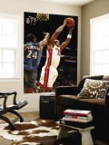 Washington Wizards v Miami Heat: Erick Dampier and Hilton Armstrong Wall Mural by Issac Baldizon