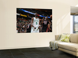 Miami Heat v Boston Celtics - Game Four, Boston, MA - MAY 9: Kevin Garnett Wall Mural by Brian Babineau