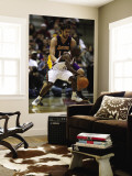 Los Angeles Lakers v Milwaukee Bucks: Earl Boykins and Pau Gasol Wall Mural by Jonathan Daniel