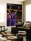 New York Knicks v Phoenix Suns, Phoenix - January 7: Amar'e Stoudemire Wall Mural by Barry Gossage