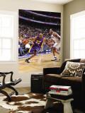 Los Angeles Lakers v Philadelphia 76ers: Kobe Bryant and Andre Iguodala Wall Mural by David Dow