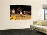 San Antonio Spurs v Golden State Warriors: Monta Ellis and Gary Neal Wall Mural by Jed Jacobsohn