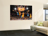 New Orleans Hornets v Los Angeles Lakers - Game Five, Los Angeles, CA - April 26: Chris Paul and An Wall Mural