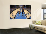 Atlanta Hawks v Orlando Magic: Josh Powell and Rashard Lewis Wall Mural by Fernando Medina
