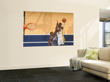 Charlotte Bobcats v Indiana Pacers: Roy Hibbert and Nazr Mohammed Wall Mural by Ron Hoskins