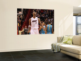New Orleans Hornets v Miami Heat: Chris Bosh Wall Mural by Mike Unknown