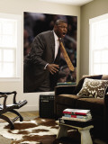 Denver Nuggets v Boston Celtics: Doc Rivers Reproduction murale géante par Elsa Unknown