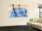 Minnesota Timberwolves v Denver Nuggets: Gary Forbes and Corey Brewer Wall Mural by Garrett Ellwood
