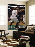 Atlanta Hawks v Boston Celtics: Ray Allen and Jeff Teague Reproduction murale géante par Elsa Unknown
