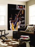 Golden State Warriors v Los Angeles Lakers: Monta Ellis, Derrick Caracter and Lamar Odom Wall Mural by Stephen Dunn