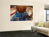 Sacramento Kings v Los Angeles Clippers: Jason Thompson and DeAndre Jordan Wall Mural by Noah Graham