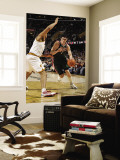 Milwaukee Bucks v Cleveland Cavaliers: Ersan Ilyasova and Ryan Hollins Wall Mural by David Liam Kyle