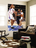 Memphis Grizzlies v Los Angeles Clippers: Sam Young and Brian Cook Wall Mural by Noah Graham