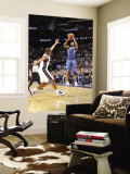 Washington Wizards v New Jersey Nets: Gilbert Arenas Wall Mural by David Dow