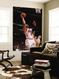 Indiana Pacers v Chicago Bulls - Game Five, Chicago, IL- April 26: Carlos Boozer and Tyler Hansbrou Wall Mural