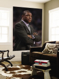 Atlanta Hawks v Boston Celtics: Doc Rivers Reproduction murale géante par Elsa Unknown