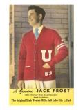 Letterman's Sweater Advertisement Prints