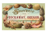 Souvenir fron Rockaway,Oregon Prints