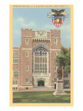 Washington Hall, West Point, New York Posters
