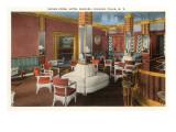 Interior, Hotel Niagara, Niagara Falls, New York Prints