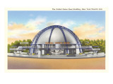 US Steel Building, New York World's Fair, 1939 Prints