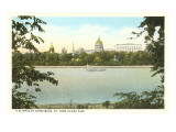 Skyline of Harrisburg, Pennsylvania Posters