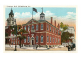 Congress Hall, Philadelphia, Pennsylvania Posters