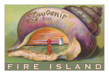 Souvenir from Fire Island, New York Prints