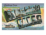 Greetings from Niagara Falls Prints
