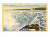 Horseshoe Falls, Niagara Falls Poster