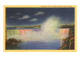 Night, Horseshoe Falls, Niagara Falls Art