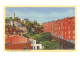 Mt. Adams Incline, Cincinnati, Ohio Prints