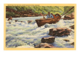 Rapids, Rogue River, Oregon Print
