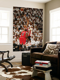 Chicago Bulls v Miami Heat - Game ThreeMiami, FL - MAY 22: Dwyane Wade and Derrick Rose Wall Mural by Issac Baldizon