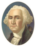 Portrait of George Washington Art