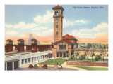 Union Station, Dayton, Ohio Print