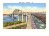 Peace Bridge, Buffalo, New York Prints